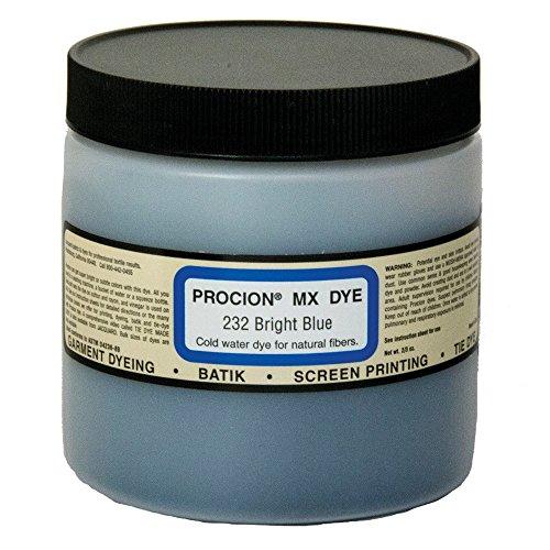 Jacquard Procion MX Fiber Reactive Dye bright blue 232 8 oz. (Jacquard Procion Dye)