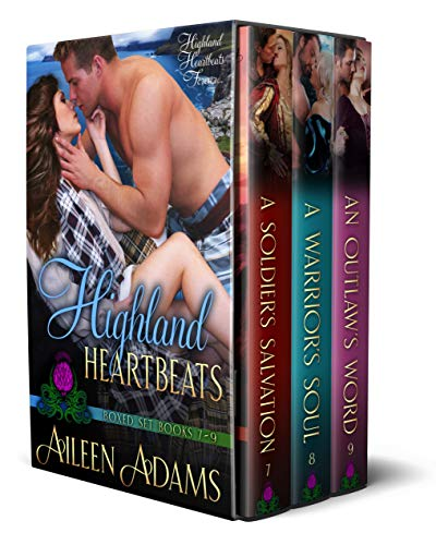 Highland Heartbeats Boxed Set 3: Books - 1 Set Boxed