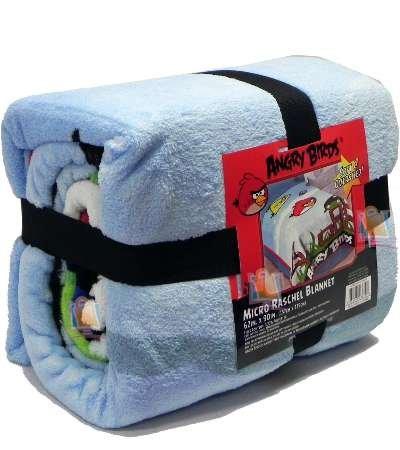 Angry Birds Blanket Micro Raschel