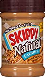 skippy all natural peanut butter - Skippy Peanut Butter, Natural Creamy, 15-Ounce Jars (Pack of 6)