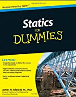Statics For Dummies Front Cover