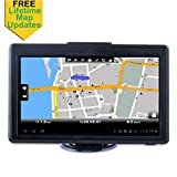 GPS Navigation for Car, 7 inches Spoken Turn-to-Turn Navigation System for Cars, Vehicle GPS Navigator Lifetime Free Maps Update