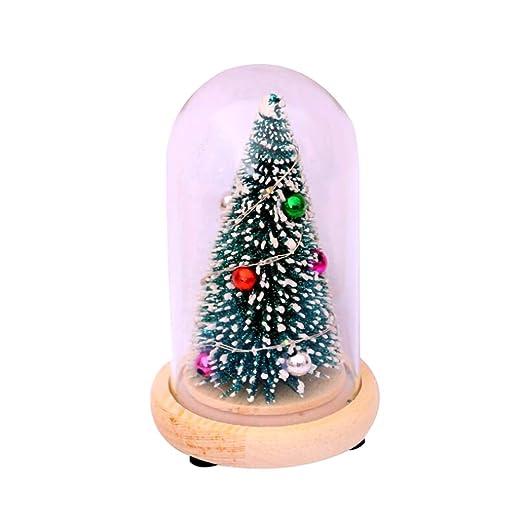 YOUNG4 Árbol de Navidad de Mesa, árbol de Navidad Artificial de ...