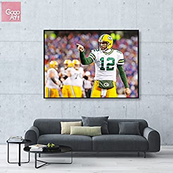 NFL Football Photo Poster AARON RODGERS 24 inch by 36 inch AAA