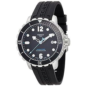 TISSOT watch SEASTAR 1000 Powermatic 80 T0664071705702 Men's [regular imported goods]