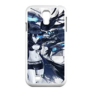 Black Rock Shooter For Samsung Galaxy S4 I9500 Csae protection phone Case ST066127