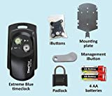 #8: TimePilot 39211A Extreme Blue Indoor/Outdoor Employee Time Management System Downloads Data Collected to your iPhone or Smartphone, Rugged Construction Handles Rain, Snow, Cold, Heat, Dust, etc.