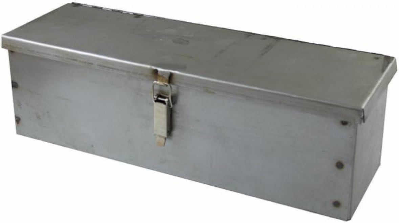 Caja de herramientas de chapa curvas y soldada 420 x 130 x 130 mm ...