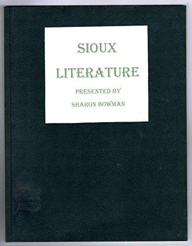 Sioux literature: Junior high - Gilbert Macy's