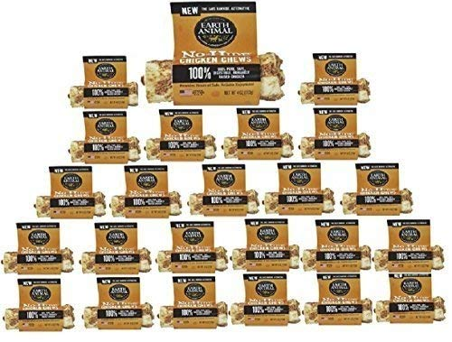 (24 Pack) Earth Animal No-Hide Chicken Chews 4