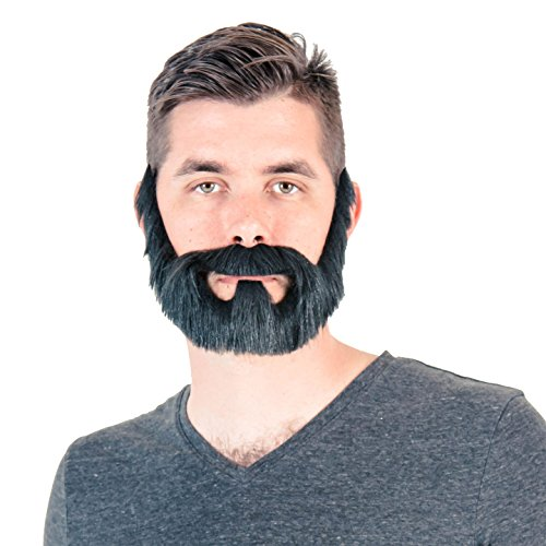 Adult Halloween Full Beard Costume -