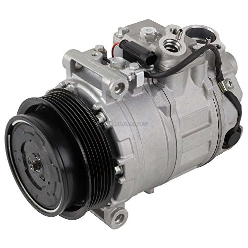 Mercedes Ac Compressor Benz (AC Compressor & A/C Clutch For Mercedes C240 C320 S430 S500 CLK320 ML320 E350 - BuyAutoParts 60-01576NA New)