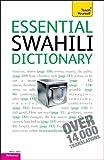 Essential Swahili Dictionary, D. V. Perrott, 0071747427