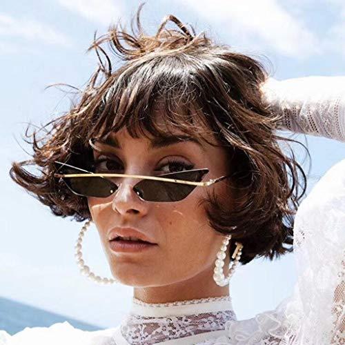 Chat Oeil 7 Lunettes Soleil Femmes Petit Sunglasses Homme couleurs Femme de Lunettes MagiDeal Mode Vintage de Cadre Dames Mode Transparente Violet UBvx8nwfq