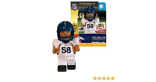 Amazon.com : NFL Denver Broncos Super Bowl 50 Champions Von Miller ...