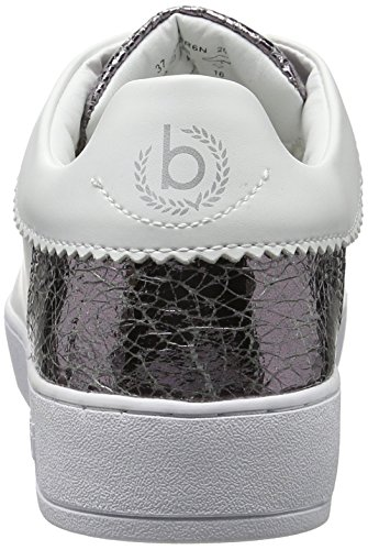 bianche weiss Silber donna sneakers basse da Bugatti J7608pr6n xOYTZq0X