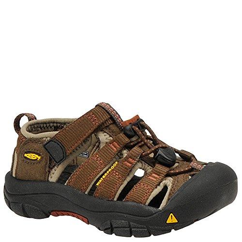 KEEN Newport H2 Sandal ,Slate Black/Burnt Henna,8 M US Toddl