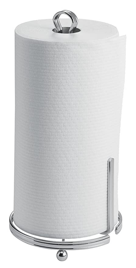 mDesign Portarrollos de cocina autónomo – Práctico soporte para papel de cocina – Accesorios de cocina