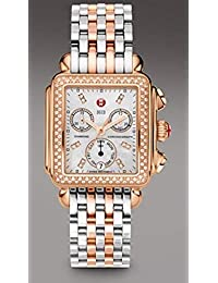 Day Deco Diamond Watch 2tone Rose Gold Stainless Steel