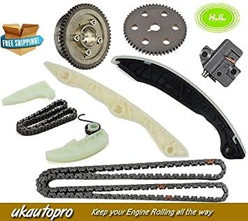 Kit de cadena de sincronización para Hyundai Sonata Kia Optima Rondo 2.0L w/VT Gear 06-08: Amazon.es: Coche y moto
