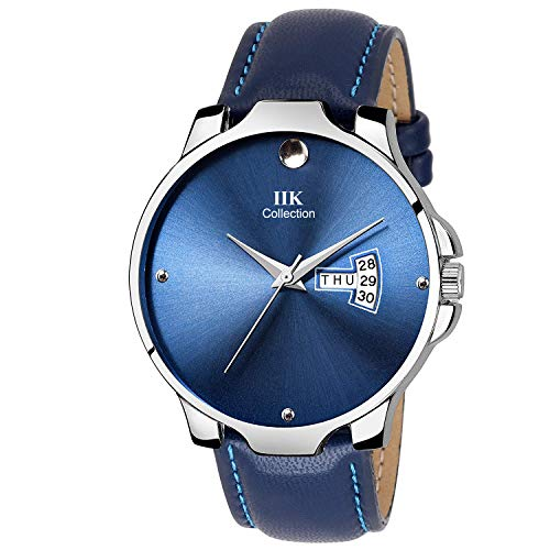 IIK Collection Analog Day and Date Strap Watch for Men #39;s and Boy #39;s