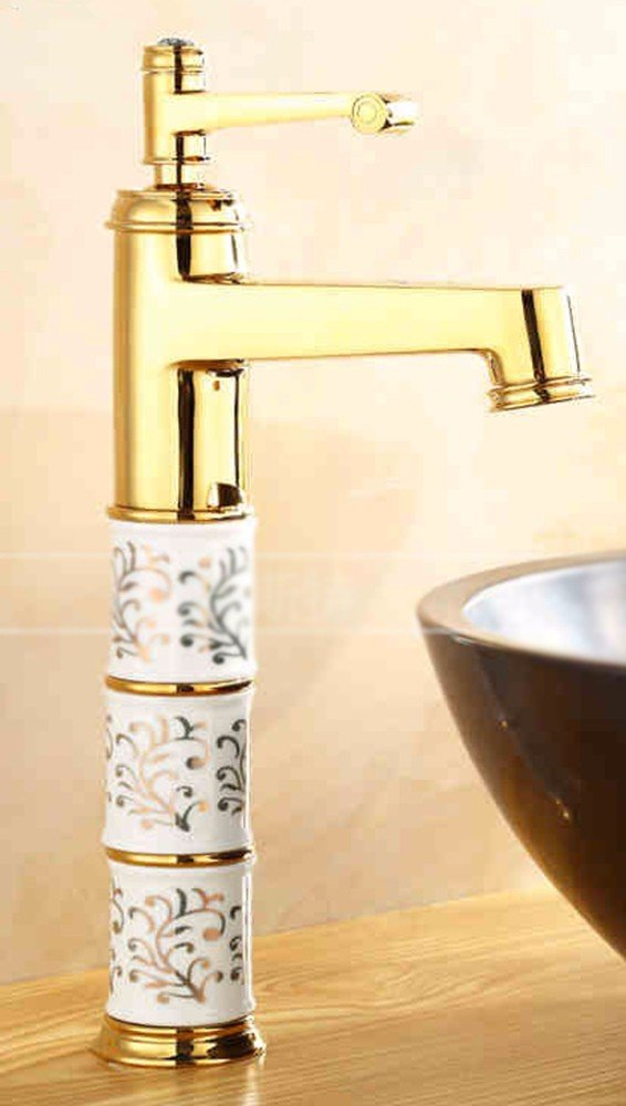 14 Hlluya Professional Sink Mixer Tap Kitchen Faucet Copper, hot and cold jade, basin, Single Hole, sink and faucet