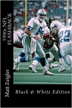 Book 1990s NFL FLASHBACK: Black & White Edition