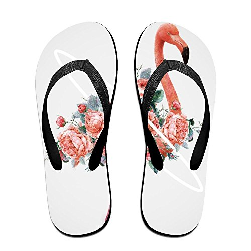 Black Women Kids Pink Flip for Men Slippers PTJHKET Flamingos Flops xU4Aqwn1