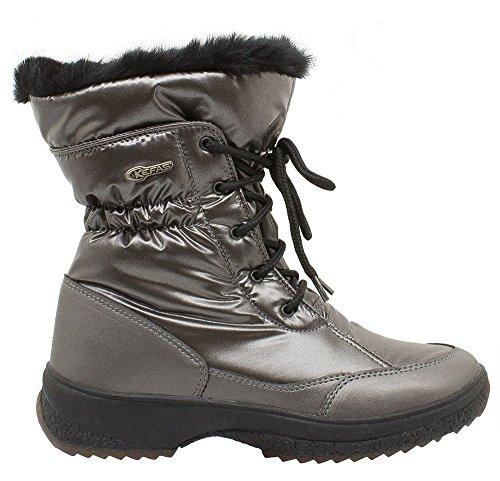 Grey Snow 3222 GAIYA Winter KEFAS Boot Woman cFqwvW7p