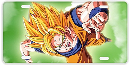 Personalized Car Tag Dragon -Ball Z
