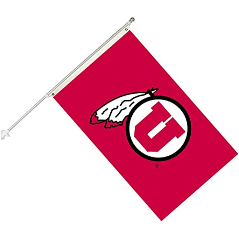 University of Utah Utes Grommet Flag NCAA Licensed 3/' x 5/' Collegiate