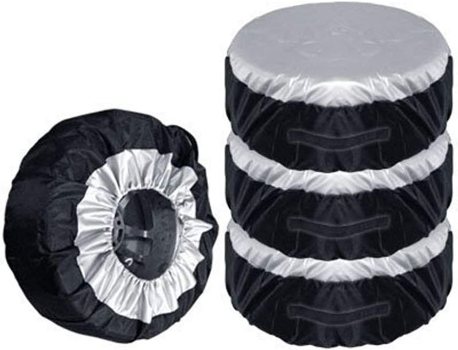 1//2//4 Pcs Tire Cover Spare Wheel Cover Universal Dustproof Tyre Spare Cover Lightweight Tire Case Storage Bags for SUV Car Minibus