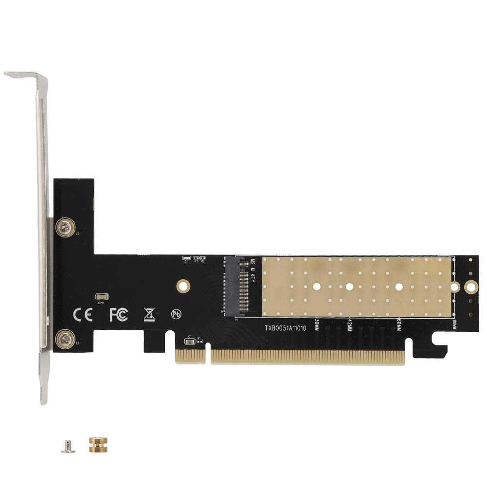ASHATA PCIE a M. 2, PCI-E-16X-M2 M.2 Riser Card Tarjeta de ...