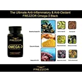 FREZZOR OMEGA-3 -250X more effective than fish oil - 60 count Bottle Softgels