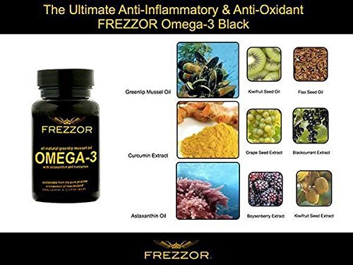FREZZOR OMEGA-3 -250X more effective than fish oil - 60 count Bottle Softgels by VITAMINSDEPOT2011 by Unknown