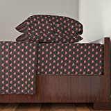 Roostery Rocky 4pc Sheet Set Rocky Lips by Krakmunky Queen Sheet Set made with
