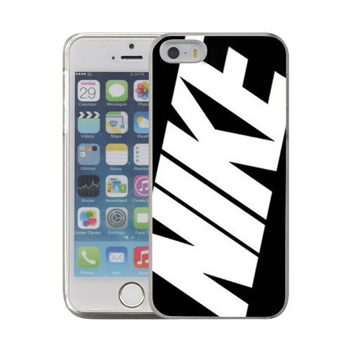 Just Do it Nike logo image Custom iPhone 5 5S SE PC Individualized Hard Case PC transparent style - Canada Contact Us Paypal