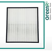 GreenR3 1-PACK HEPA Air Filters Air Purifiers for Hunter 30940 fits 30210 30214 30215 30216 30225 30244 30245 30260 30398 30400 30401 30402 30525 36260 36395 37225 Replacement Parts and more