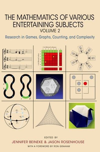 The Mathematics of Various Entertaining Subjects: Research in Games, Graphs, Counting, and Complexity, Volume 2