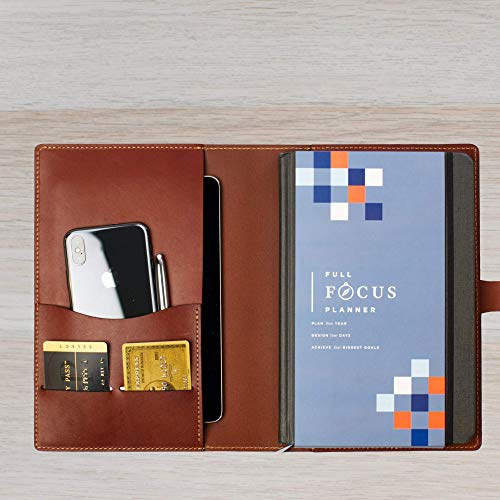 Leather Cover for Full Focus Planner 6.25x9.25