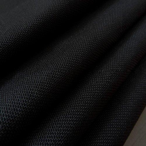 Black 500 Denier Nylon Cordura Nylon Fabric Fire Retardant & Water Repellent
