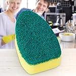 Dantazz-Spugna-da-cucina-con-manico-di-ricambio-spugna-per-lavabo-non-graffia-spugna-ecologica-per-padelle-antiaderenti-pentole-per-lavelli-da-cucina-8-pezzi-verde