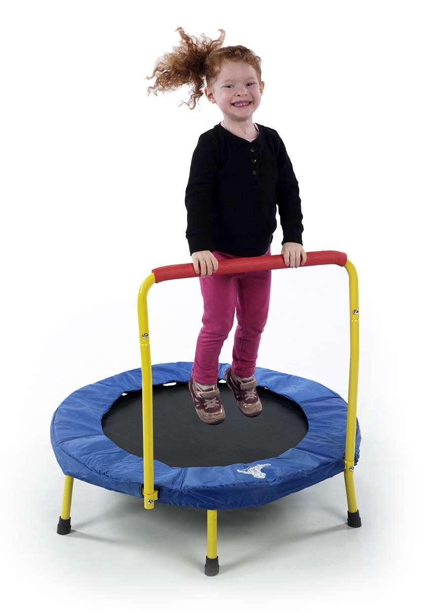 The Original Toy Company Fold & Go Trampoline – Budget Pick