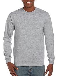 """<span class=""""a-offscreen"""">[Sponsored]</span>Men's Ultra Cotton Adult Long Sleeve T-Shirt, 2-Pack"""