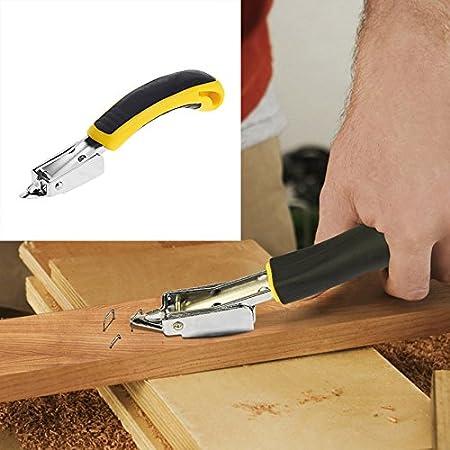 TOOGOO removedor resistente de grapas de tapiceria herramientas de mano profesional de la oficina del tirador de clavos: Amazon.es: Oficina y papelería
