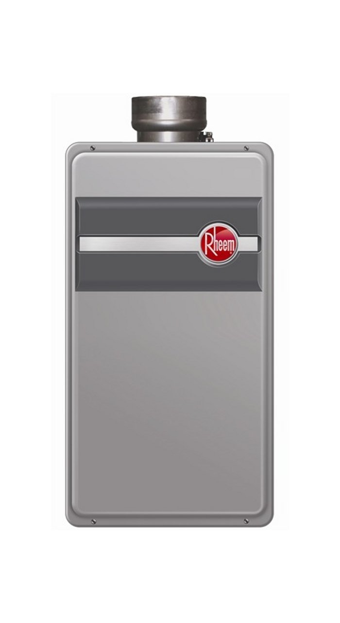 Rheem RTG-84DVP Low Nox Direct Vent Tankless Water Heater Liquid Propane  Energy Star 8 4 GPM