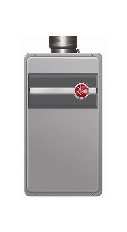 RHEEM calentador de ventilación de rtg-84dvp Low Nox Direct Liquid Energy Star de propano