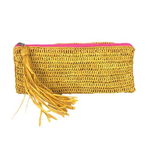 Tassel Y Slim Girasole girasole Clutch Crochet Mar Sol Emily xP14XqX