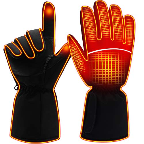 ladies heated gloves - 2