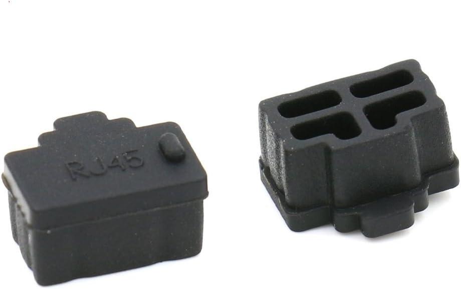20Pcs Soft Plastic Usb Port Plug Cover Cap Anti Dust Protector For Female FU